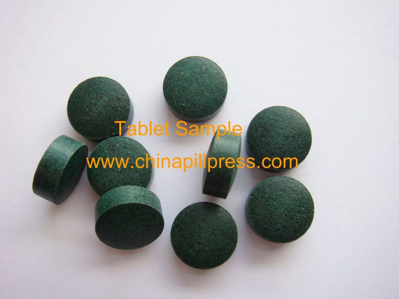 Tablet Sample, DP12 Single Punch Tablet Press